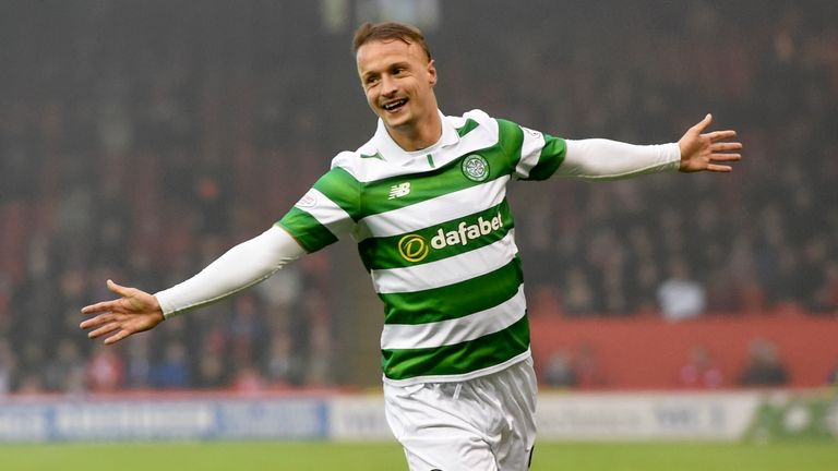 Leigh Griffiths has scored 16 goals this season for Celtic while being second choice to Moussa Dembele