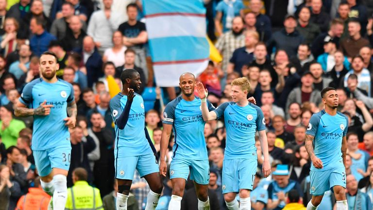 Manchester City go up against Watford on Sky Sports on Sunday