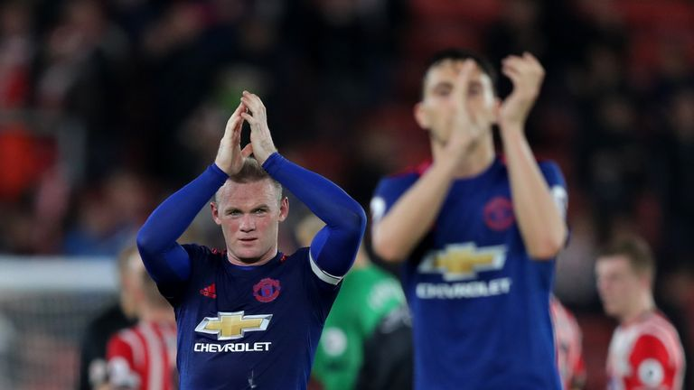 Manchester United finished sixth in the Premier League