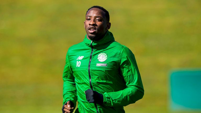 Moussa Dembele is back in training and could feature in the squad for the final