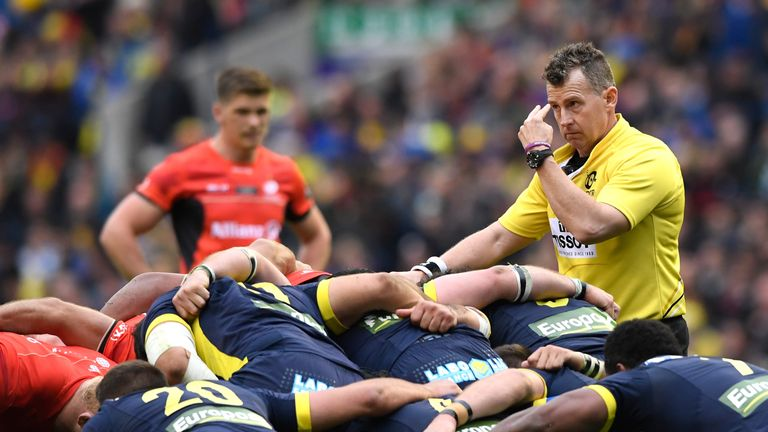 Nigel Owens refereed his sixth European Cup final on Saturday in what was his 100th game in Europe
