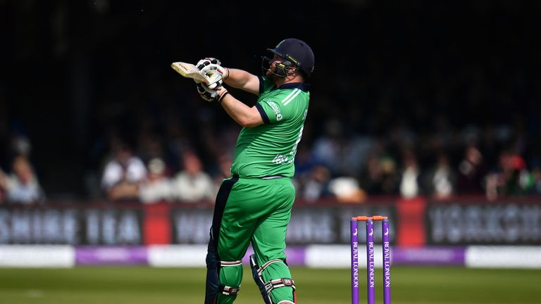 Paul Stirling and his Ireland team-mates were recently granted Test status
