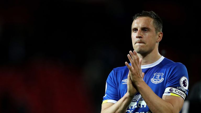 Phil Jagielka has a hamstring injury