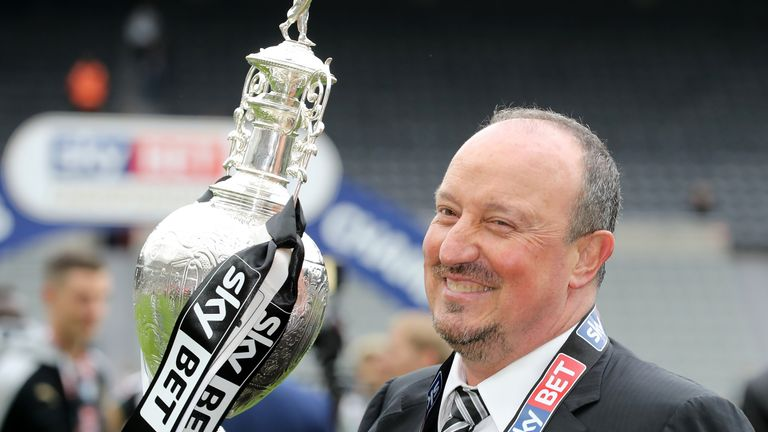 The owner wants to win more silverware under Rafa Benitez