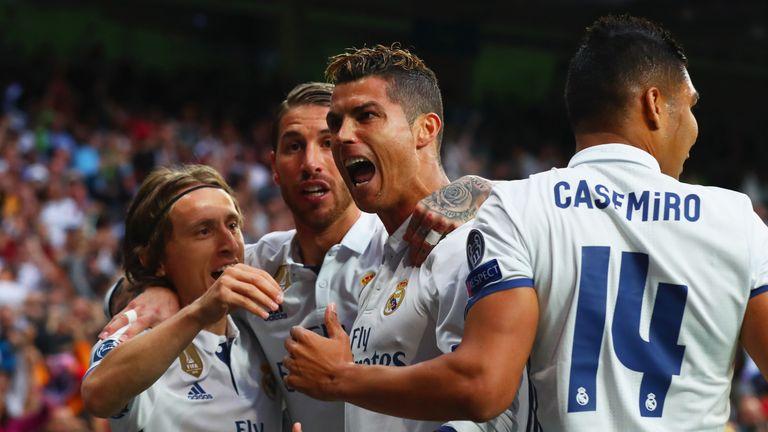 Cristiano Ronaldo scored the opening goal inside 10 minutes