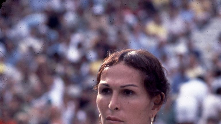 Renee Richards reached the US Open doubles final when competing as a trans woman in tennis in 1977