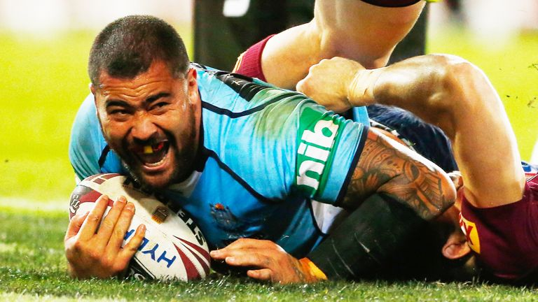 Andrew Fifita starred in New South Wales' victory in Brisbane last month