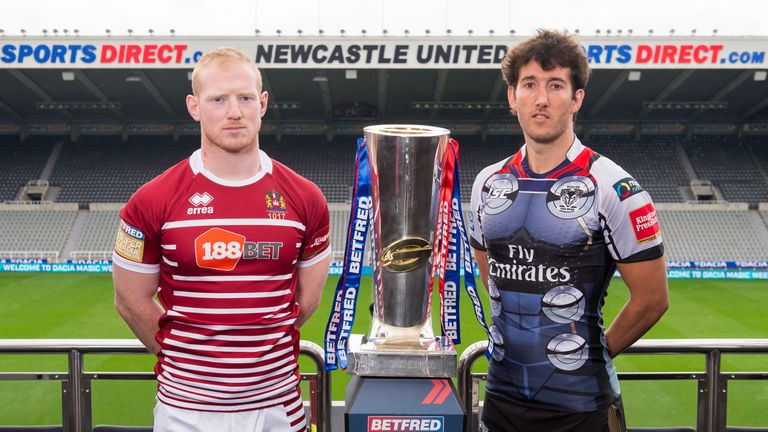 England duo Liam Farrell and Stefan Ratchford will face off at St James' Park