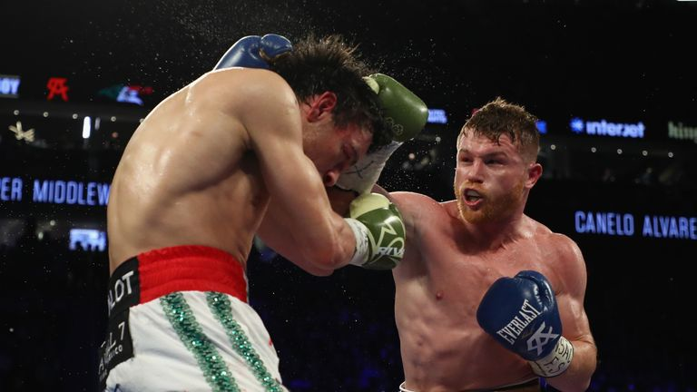 Alvarez impressively defeated fellow Mexican Julio Cesar Chavez Jr last time out