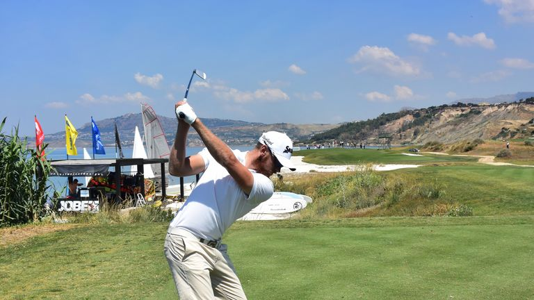 Spain's Alvaro Quiros wins playoff in Sicily