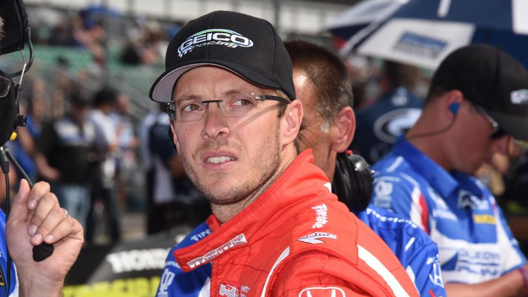 sebastien bourdais suffers multiple fractures in crash during indy 500 qualifying f1 news. Black Bedroom Furniture Sets. Home Design Ideas