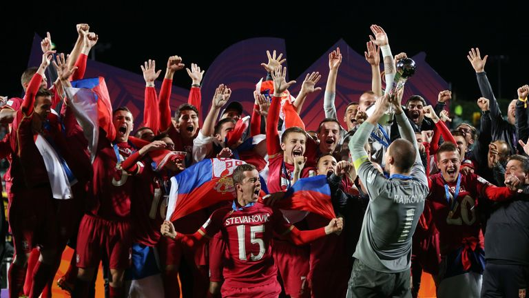 Serbia won the 2015 U20 World Cup - but haven't qualified for this edition