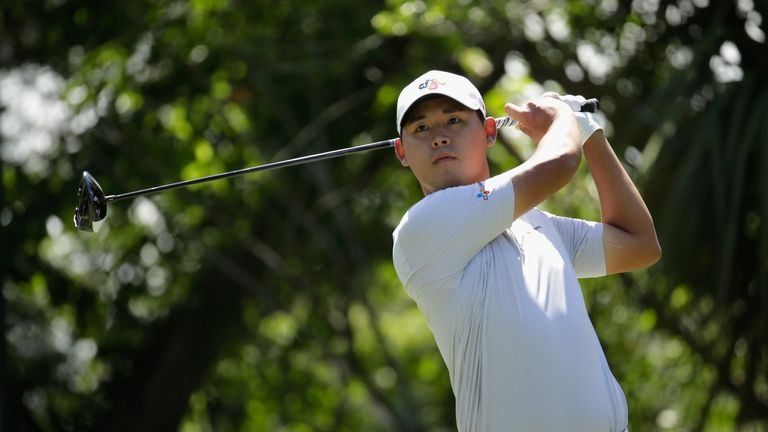 Si Woo Kim kept a bogey off his card to win by three shots