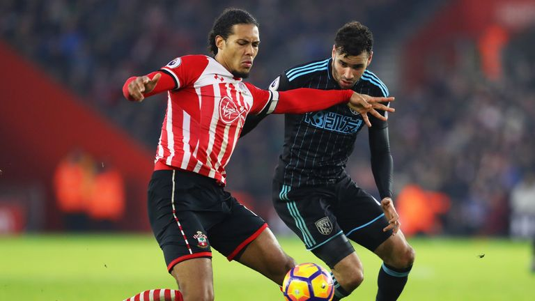 Virgil van Dijk was understood to have favoured a move to Anfield this summer