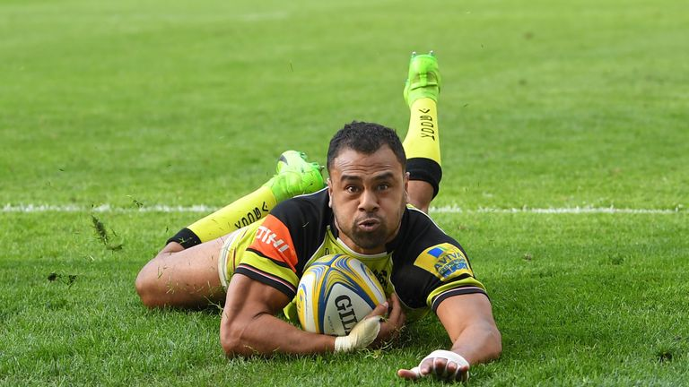Telusa Veainu has scored five tries in eight appearances for Leicester this season