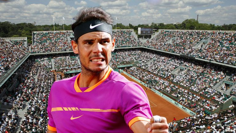 Rafael Nadal has been almost perfect on clay this season