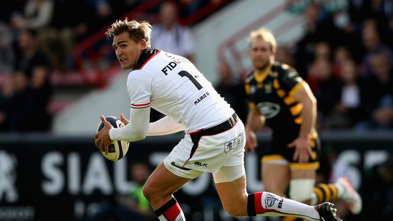 Toby Flood in action for Toulouse