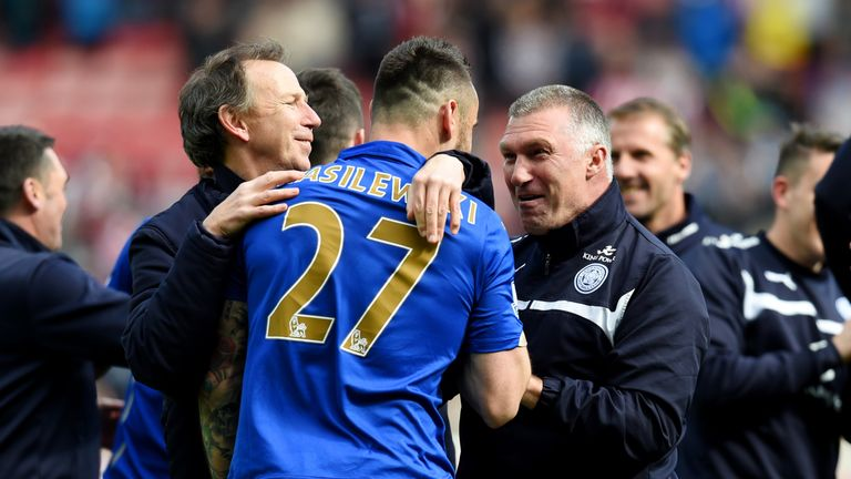 The defender helped Leicester stave off relegation from the Premier League under Nigel Pearson in 2015