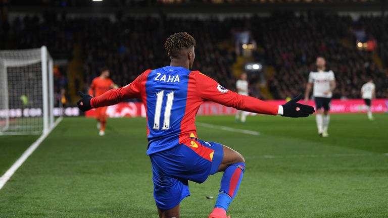 Wilfried Zaha Signs New Five-year Crystal Palace Deal