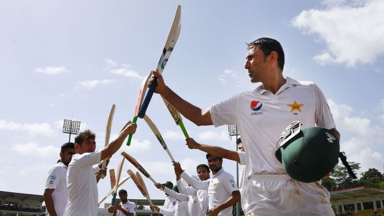 Dominica Test: Azhar Ali century anchors Pakistan to 376