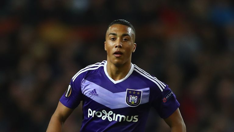 Anderlecht confirm Youri Tielemans transfer