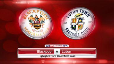 Blackpool 3-2 Luton