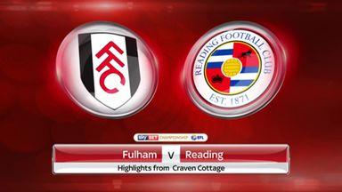 Fulham 1-1 Reading