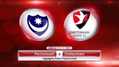 Portsmouth 6-1 Cheltenham