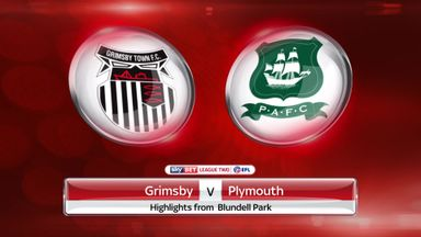 Grimsby 1-1 Plymouth
