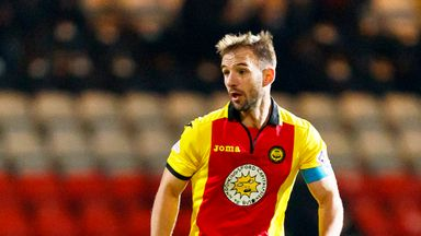 Partick's former captain Sean Welsh is leaving Firhill this summer