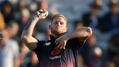 Ben Stokes was injured on his return to England action on Wednesday