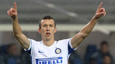 Ivan Perisic has been linked with a move to Manchester United
