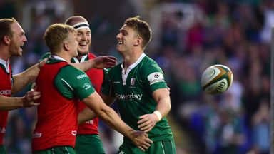 London Irish secured promotion back to the Aviva Premiership with victory over Yorkshire Carnegie