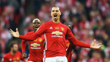 Zlatan Ibrahimovic is working on a potential return to Manchester United