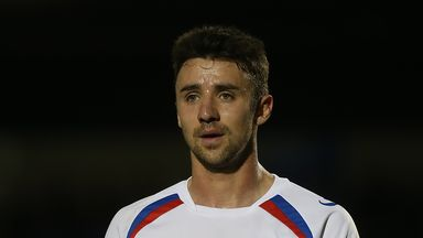 Enda Stevens was voted PFA Fans' League Two Player of the Season award