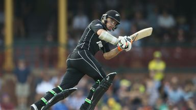 Tom Latham made 104 as New Zealand recorded a comprehensive 190-run win