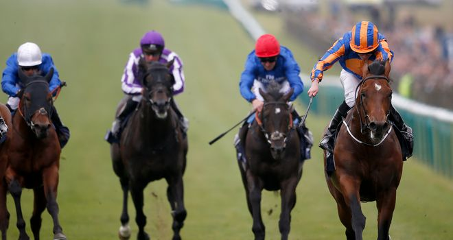 Churchill (r) is bidding for another Group One
