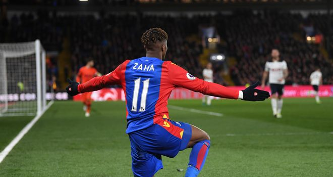 Wilfried Zaha signs new five-year contract with Crystal Palace