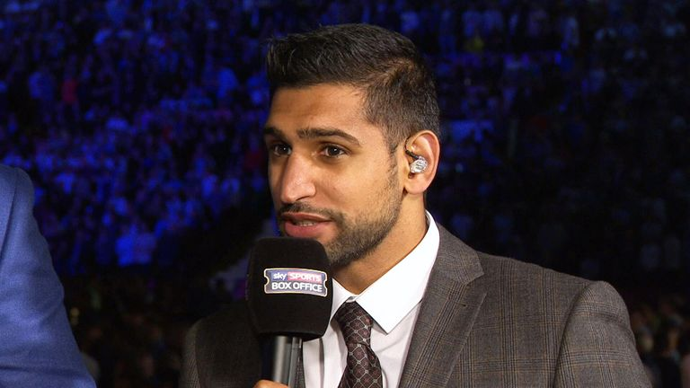 Amir Khan at Bramall Lane