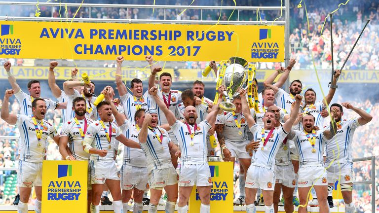 2017 Premiership Champions Exeter