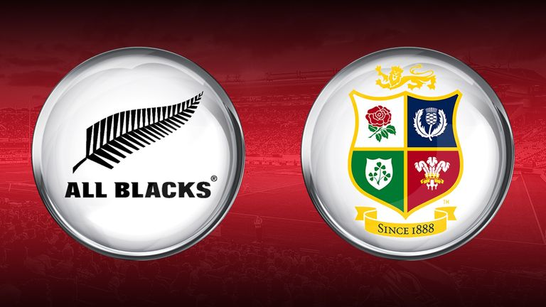 All Blacks v British & Irish Lions
