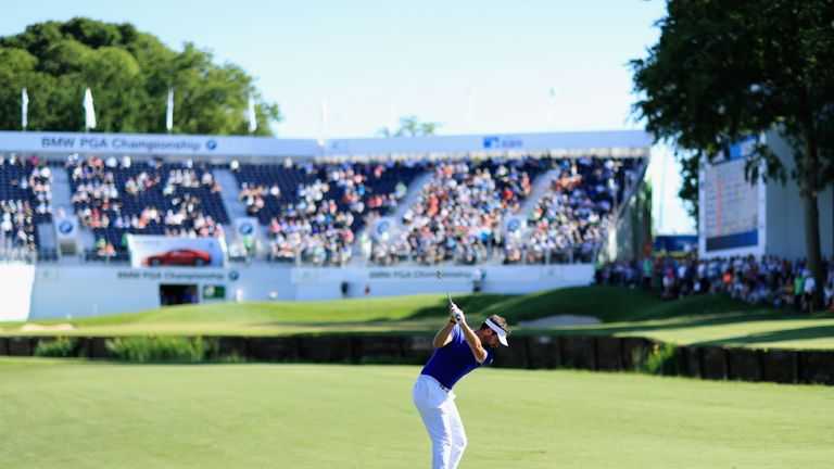 Scott Jamieson during day two of the BMW PGA Championship at Wentworth