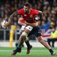 Courtney Lawes was excellent against the Hurricanes