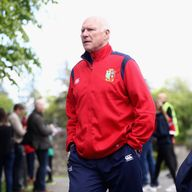 John Spencer was in Auckland on Thursday night with the Lions backroom staff