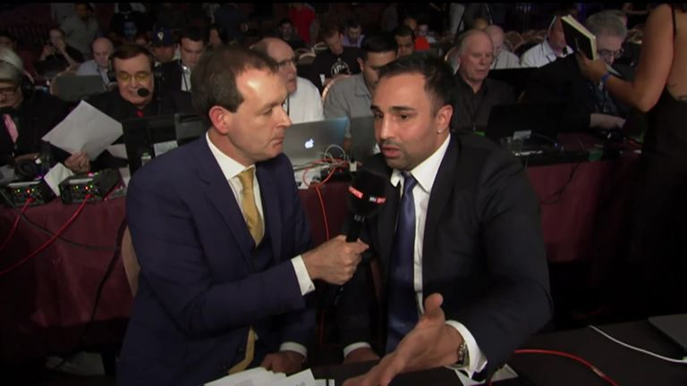 Energy levels could be a factor on August 26, says Malignaggi