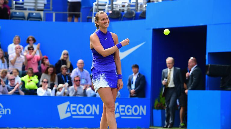 Kvitova Reaches First Final Since Stabbing