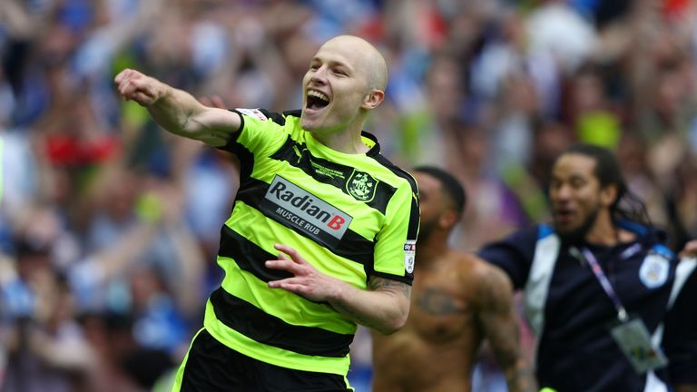 Aaron Mooy has joined Huddersfield last week for a club-record fee