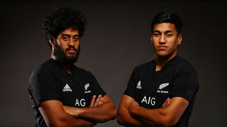 One lucky fan got to stay at Akira Ioane (L) and Rieko Ioane's house