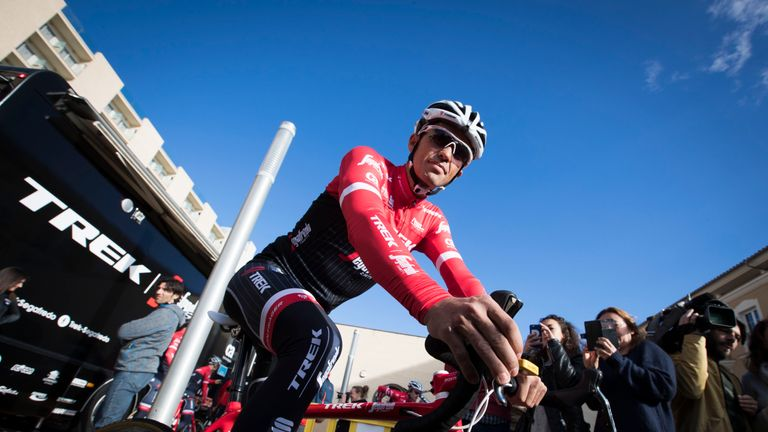 Alberto Contador will have to rebound if he is to overcome the likes of Porte and Froome