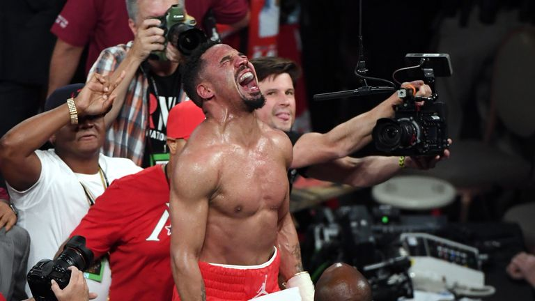 Warriors on hand to see Andre Ward defeat Sergey Kovalev by TKO